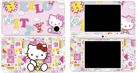Carcasa Hello Kitty de Nintendo