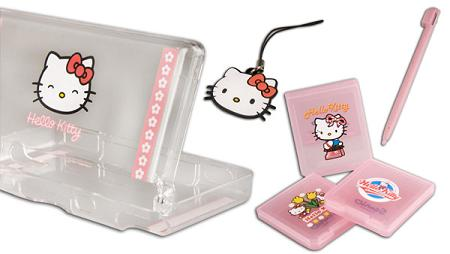 Carcasa de Nintendo DS Hello Kitty