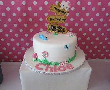 cumple kitty tarta