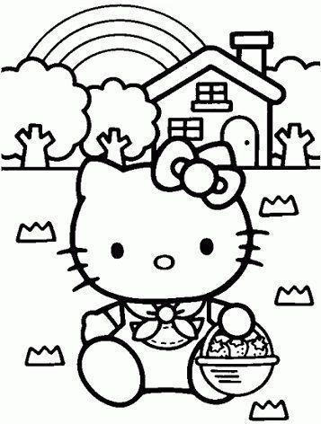 dibujos hello kitty imprimir gratis