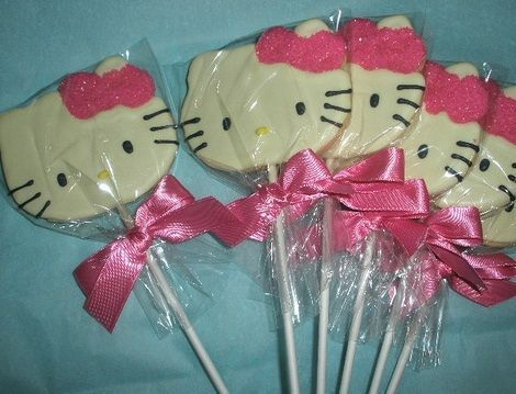 dulces hello kitty piruletas