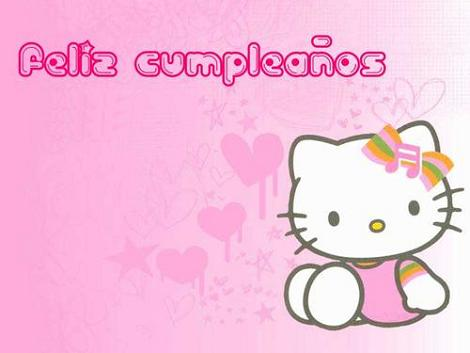 Feliz cumple Hello Kitty