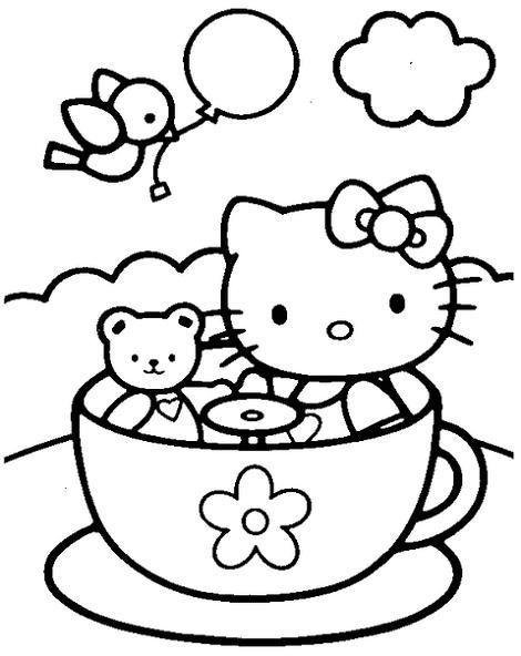 Hello Kitty con su osito