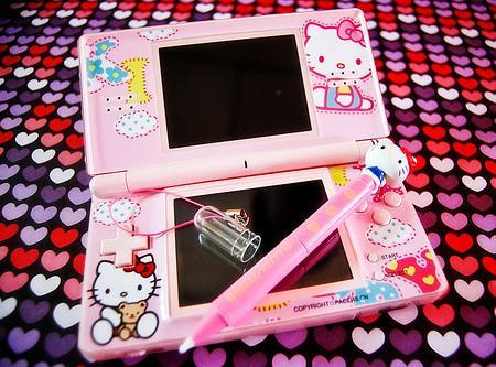 Pegatinas de Hello Kitty para Nintendo