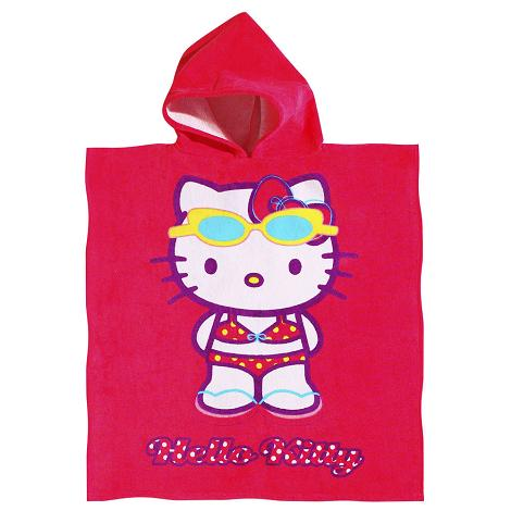 Poncho de playa Hello Kitty