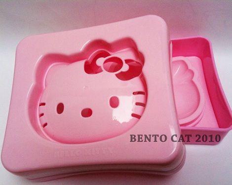 molde de Hello Kitty para sandwiches