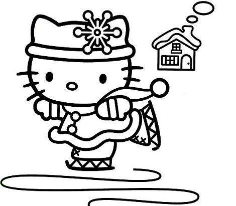 6 Dibujos Hello Kitty Navidad Hello Kitty En Mundokittycom