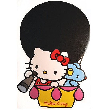 sticker de hello kitty en globo de leroy merlin