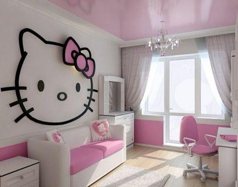 5 habitaciones de hello kitty