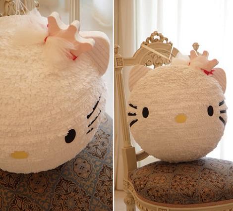 Cómo hacer una piñata de Hello Kitty paso a paso