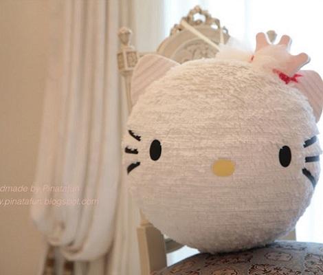 Cómo Hacer Una Piñata De Hello Kitty Paso A Paso Hello Kitty En