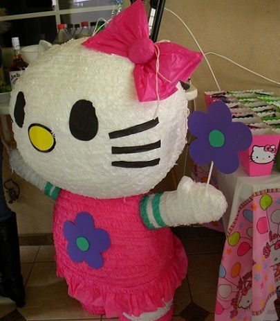 fiesta de hello kitty y keroppi