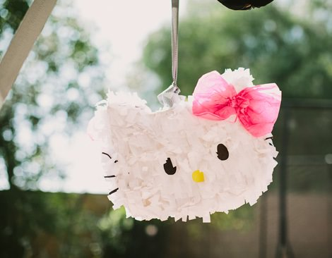 Ideas fáciles para la decoración de una fiesta de Hello Kitty en casa