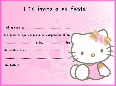 tarjetas de cumpleanos de hello kitty