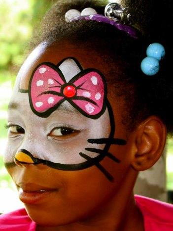 maquillaje de hello kitty para niñas
