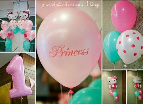 primer cumpleaños de niña de Hello Kitty