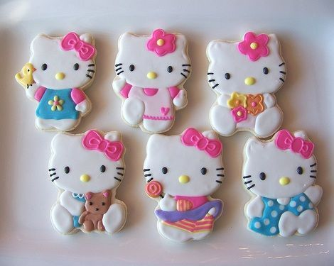 galletas de hello kitty decoradas