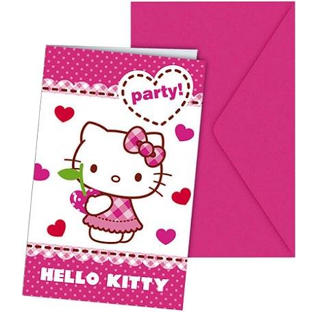 tarjetas de cumpleaños de hello kitty