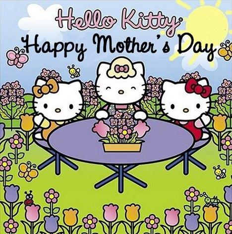 fotos de hello kitty para el día de la madre