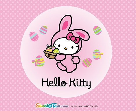fotos de hello kitty de pascua