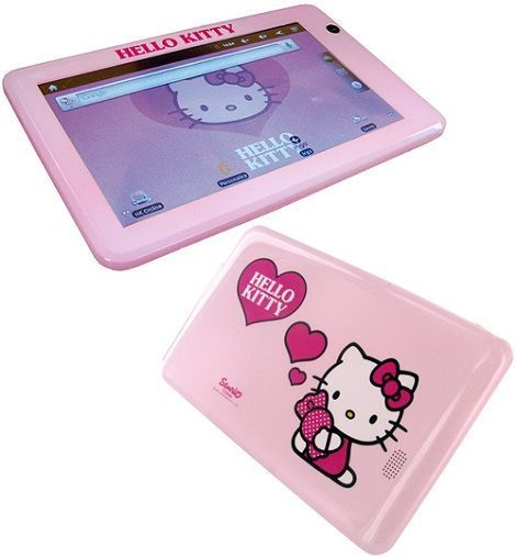 tablet de hello kitty para niña