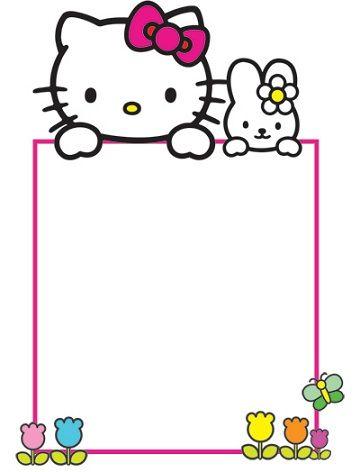 Invitaciones De Cumplea 241 Os De Hello Kitty Para Imprimir Gratis