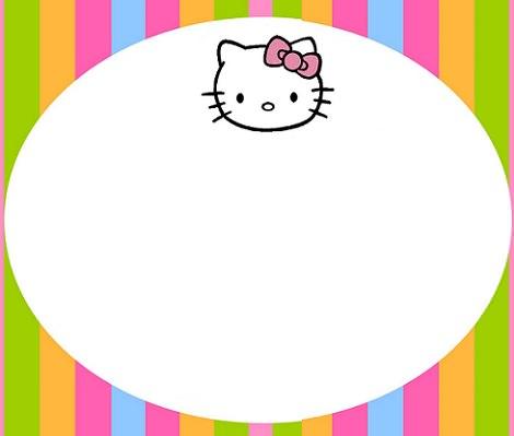 tarjetas de cumpleaños personalizadas de Hello Kitty
