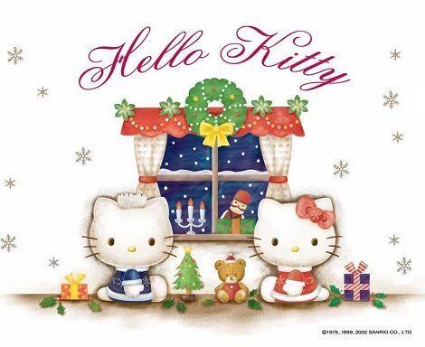 imagenes hello kitty navidad