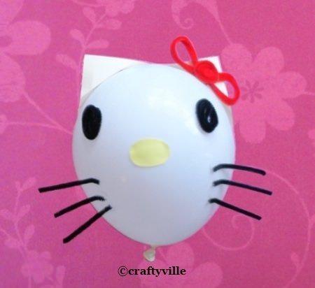 esfera de cumpleaños de Kitty