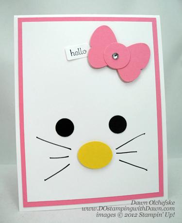 haz tus tarjetas de cumpleaños de Hello Kitty caseras
