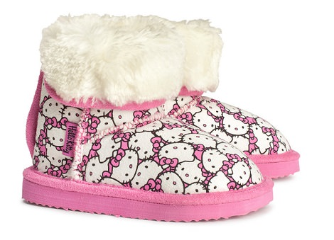 prepara a tu bebé para el invierno con la ropa de hello kitty de hym invierno 2014