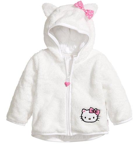 chaqueta de bebé de hello kitty de hym invierno 2014