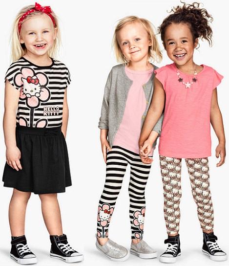 ropa de Hello Kitty para niña