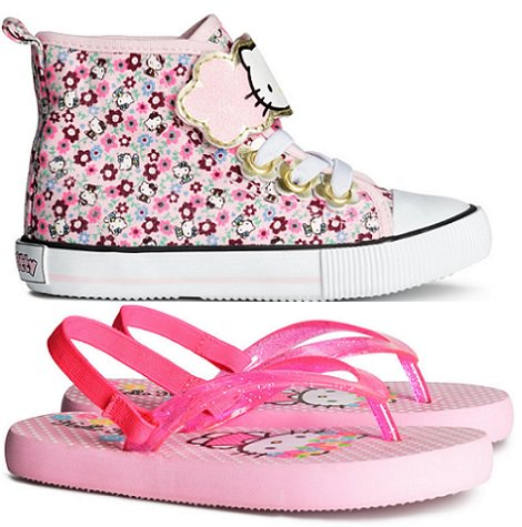 zapatillas de Hello Kitty para niña