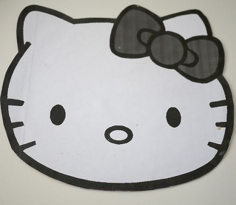 como decorar tu tarta de hello kitty con fondant